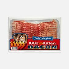 """""""Kitten Bacon"""" Rectangle Magnet"""
