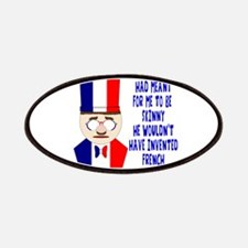 Dark Blue French Chef Patches