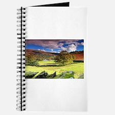 Unique Autumn mountains Journal