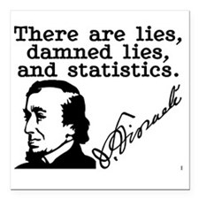 Lies, Damned Lies, and Statistics -B. Disraeli Squ