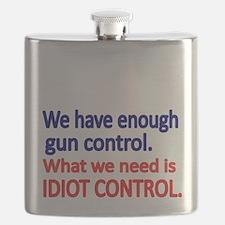 We have enough gun control Flask