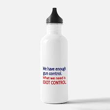 We have enough gun control Water Bottle
