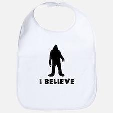 I Believe in Sasquatch Bib
