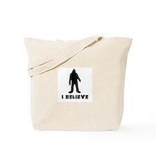I Believe in Sasquatch Tote Bag