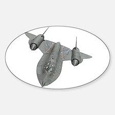 SR-71 Blackbird Sticker (Oval)