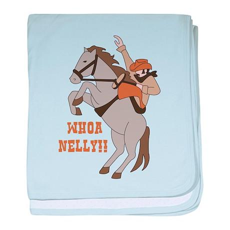 Whoa Nelly baby blanket