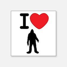 I Heart Sasquatch Sticker