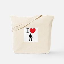 I Heart Sasquatch Tote Bag