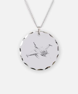F-16 Falcon Necklace