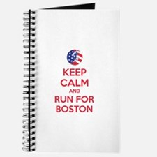 Keep calm and run for Boston Journal