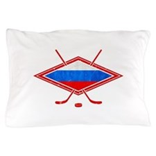 Russian Ice Hockey Flag Pillow Case
