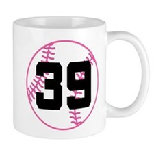 Softball Player Number 39 Mug