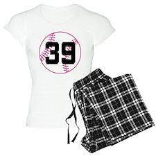 Softball Player Number 39 Pajamas