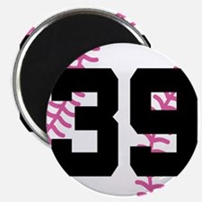 Softball Player Number 39 Magnet