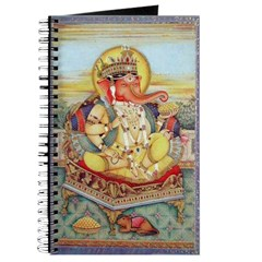 Ganesh Seated on Cushion Journal