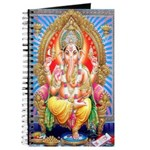Ganesh on Throne Journal