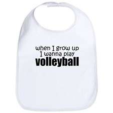 When I Grow Up Volleyball Bib