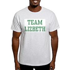 TEAM LIZBETH  Ash Grey T-Shirt