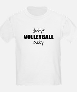 Daddys Volleyball Buddy Kids T-Shirt