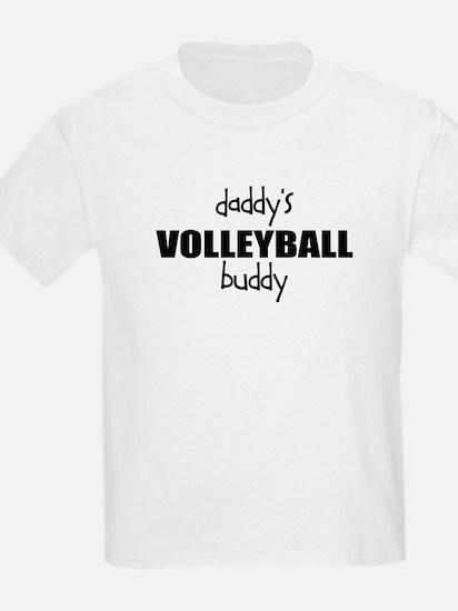 Daddys Volleyball Buddy Kids T-Shirt