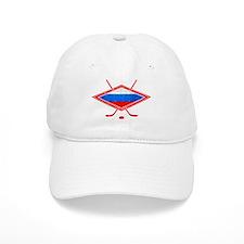 Russian Ice Hockey Flag Baseball Baseball Cap
