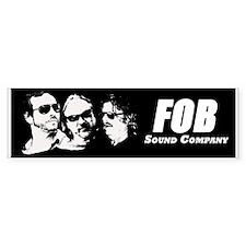 FOB Sound Company bumpersticker Bumper Bumper Sticker