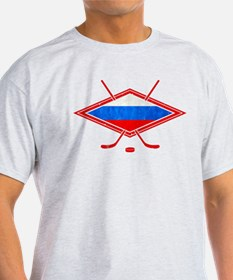 Russian Ice Hockey Flag T-Shirt