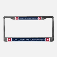 Elect Alan Lowenthal License Plate Frame