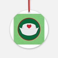 Nurse Hat Christmas Ornament