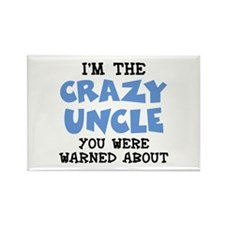 Crazy Uncle Rectangle Magnet (100 pack)