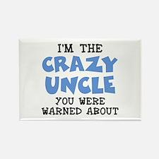 Crazy Uncle Rectangle Magnet