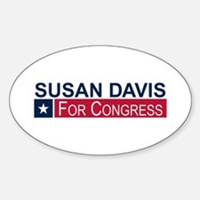 Elect Susan Davis Sticker (Oval)