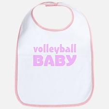 Volleyball Baby Girl Bib