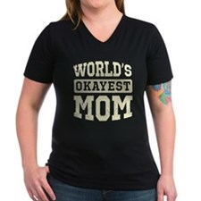 Vintage World's Okayest Mom Shirt