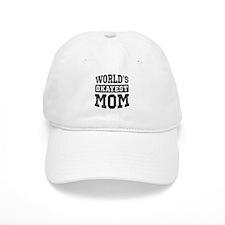 Vintage World's Okayest Mom Baseball Cap