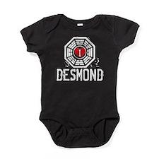 I Heart Desmond - LOST Baby Bodysuit