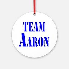 Team Aaron Ornament (Round)