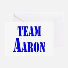 Team Aaron Greeting Cards (Pk of 10)