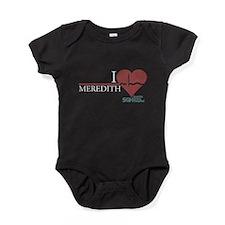 I Heart Meredith Baby Bodysuit