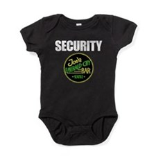 Joe's Bar Security Baby Bodysuit