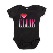 I Heart Ellie Baby Bodysuit