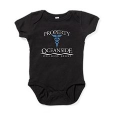 Property of Oceanside Wellnes Baby Bodysuit