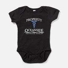 Property of Oceanside Wellnes Baby Bodysuit
