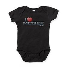 I Heart McGee Baby Bodysuit