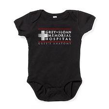 Grey Sloan Memorial Hospita Baby Bodysuit