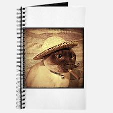 Gato w/Cigar Journal