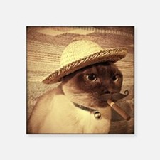 Gato w/Cigar Sticker