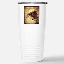 Gato w/Cigar Travel Mug