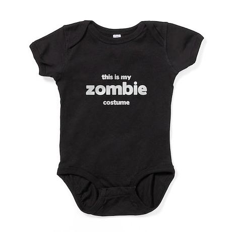 This Is My Zombie Costume Baby Bodysuit