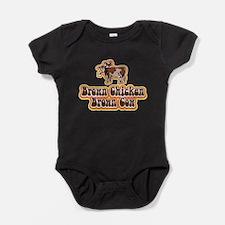 Brown Chicken Brown Cow Baby Bodysuit